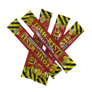 Load image into Gallery viewer, 5 Bars Toxic Waste Cherry Flavour Chews