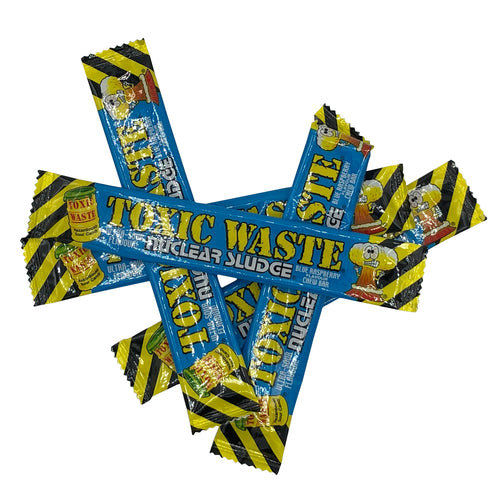 5 Bars Toxic Waste Raspberry Flavour Chews