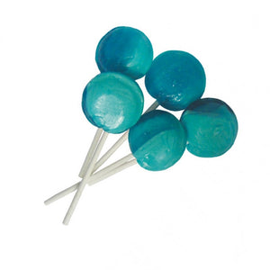 5 Blue Raspberry Flavour Mega Lollies