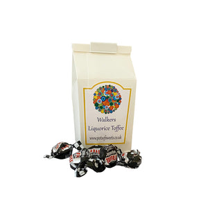 250g Carton of Individually Wrapped Walkers Liquorice Toffees