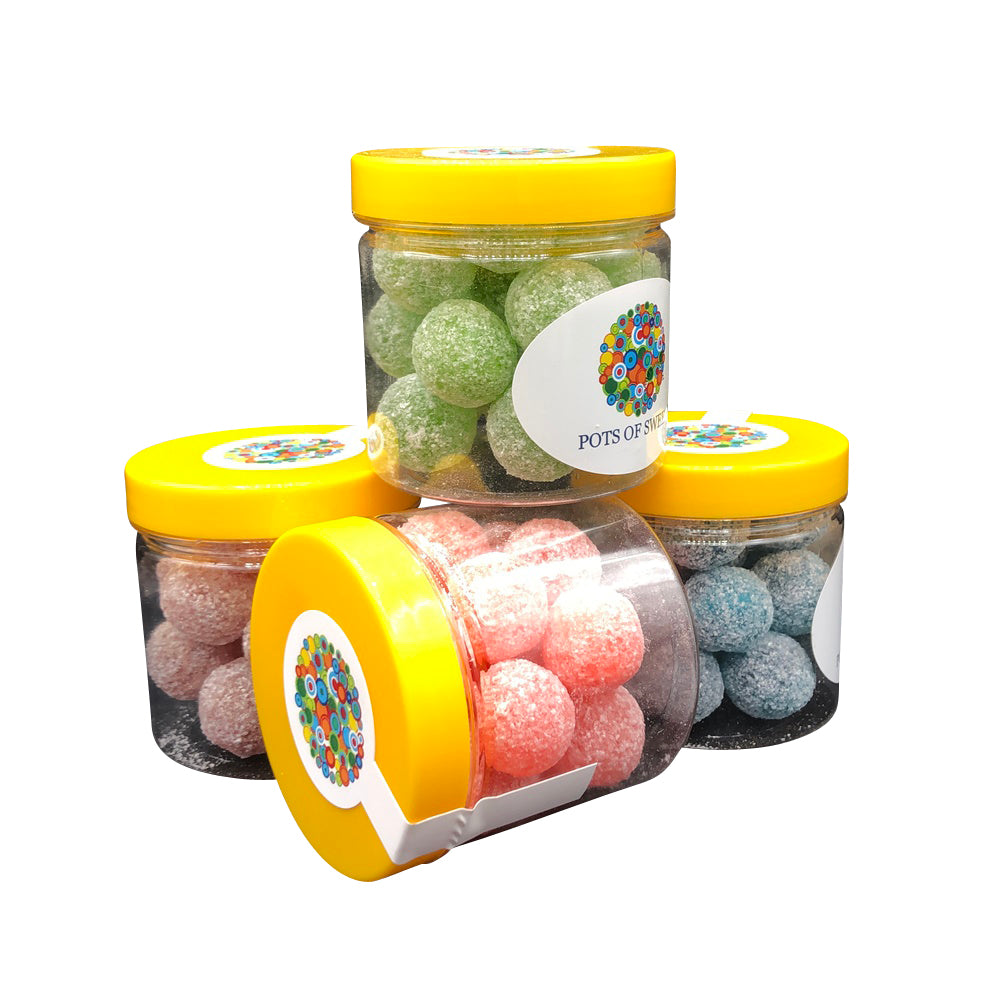 Four Flavour Mega Sour Sweets Collection