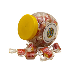 Individually Wrapped Pineapple Fizz Rock Sweets