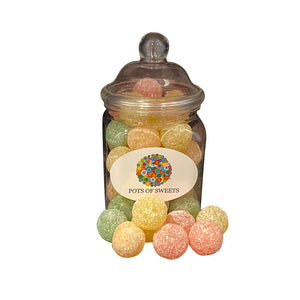 Mega Sour Fruits Sweets in Jars