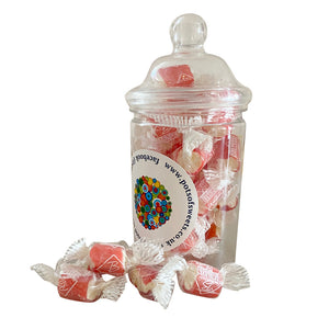 Individually Wrapped Barnetts Seaside Rock Sweets
