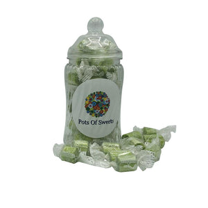 Individually Wrapped Sour Apple Rock Sweets