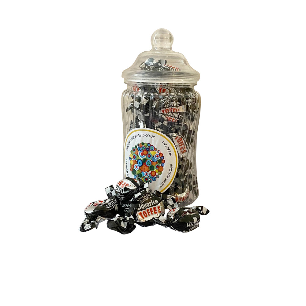 Individually Wrapped Walkers Nonsuch Liquorice Toffees