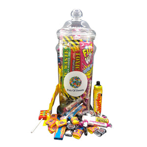 Tall Jar of Sweets