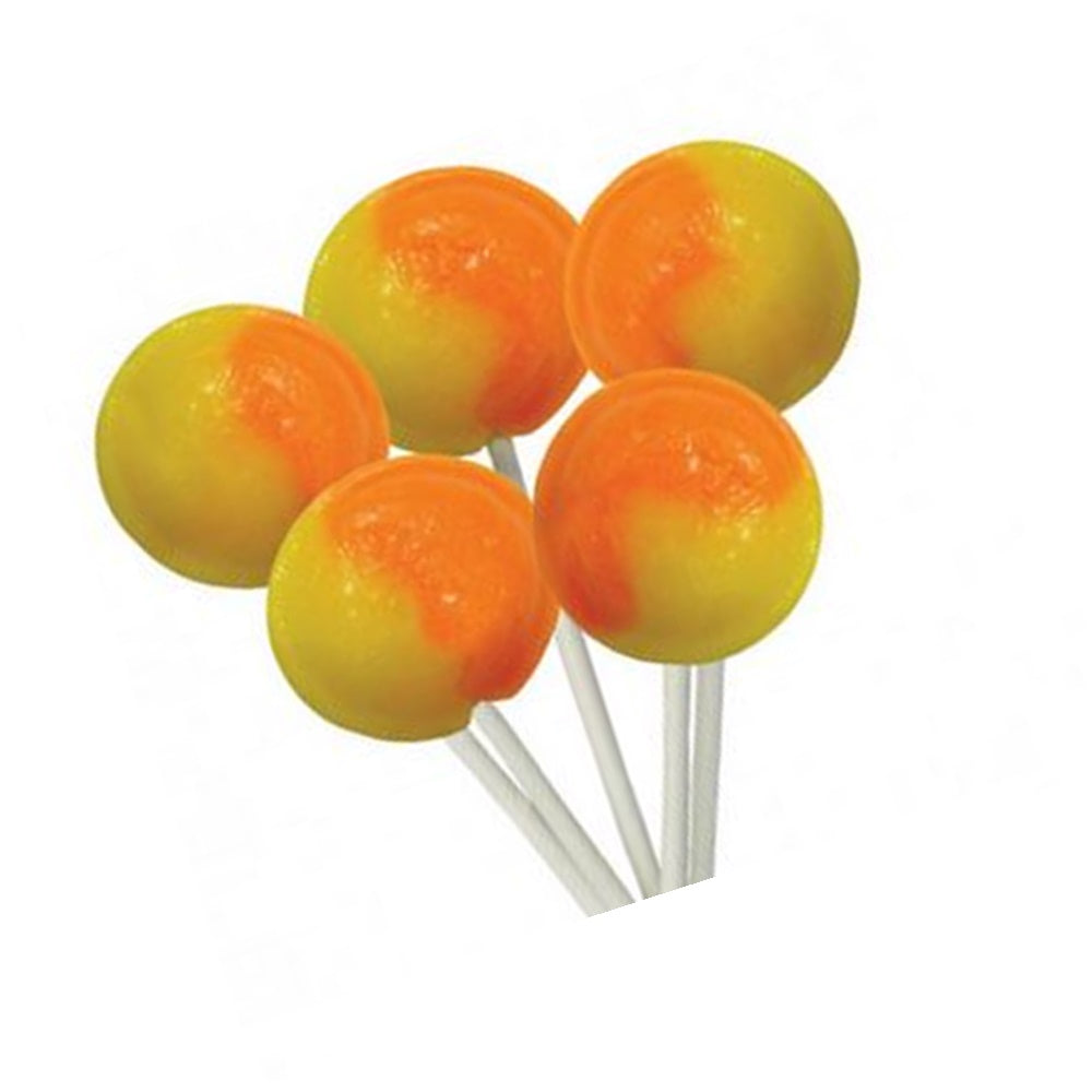 Load image into Gallery viewer, Orange and Lemon Flavour Mega Lollies