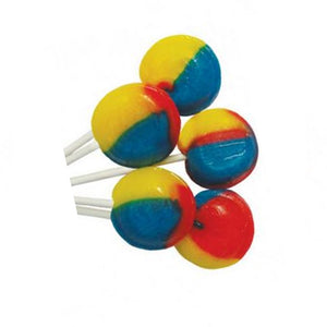Tutti Frutti Flavoured Light Mega Lollies