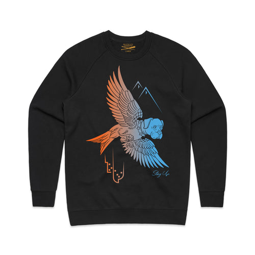 Sukabird Crew Neck Sweatshirt - Black