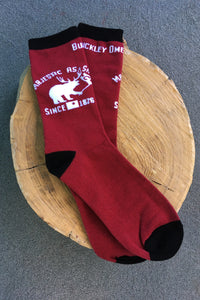 Majestic as Sh!t - Maroon Socks