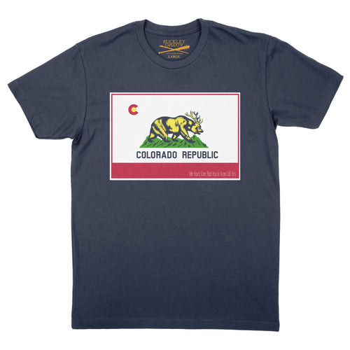 CO Republic tee- Navy
