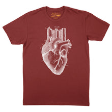 Load image into Gallery viewer, Heart of the City - Red tee