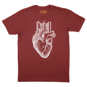 Heart of the City - Red tee