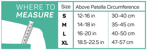 IT3 Performance ITB Sleeve Size Chart