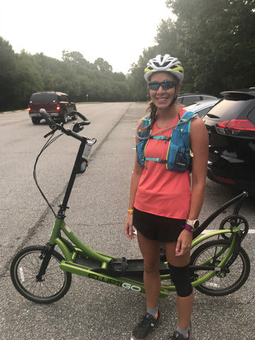 50 mile Elliptigo Ride