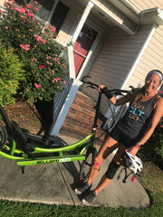qualifying for the Elliptigo world championship