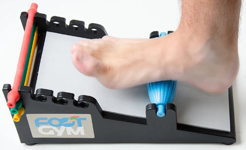 The Foot Gym: Foot Exercises - Massage, Stretch & Strengthen