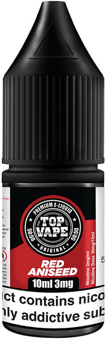 Top Vape - 50/50 - Red Aniseed