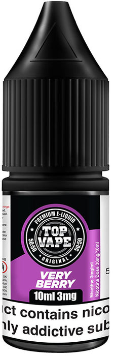 Top Vape - 50/50 - Very Berry