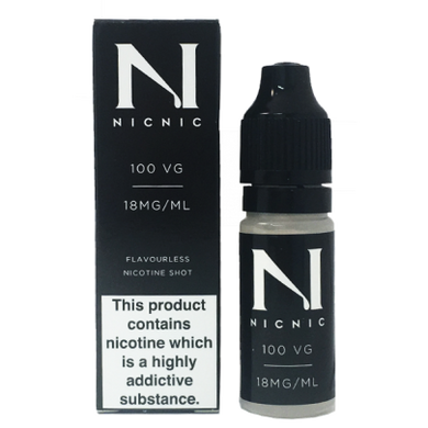 Nicotine Shot 18MG 100% By Nic Nic - Loony Juice UK