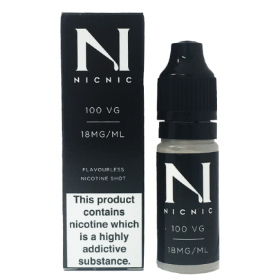 Nicotine Shot 18MG 100% By Nic Nic - Loony Juice