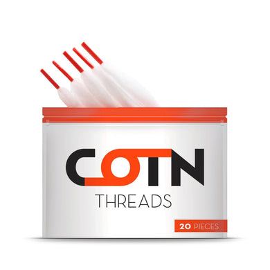 COTN Threads 2 Packs - 40 Pieces - Loony Juice UK