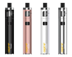 Aspire PockeX Pocket AIO E-cig Kit Including 10ml E-liquid - Loony Juice UK