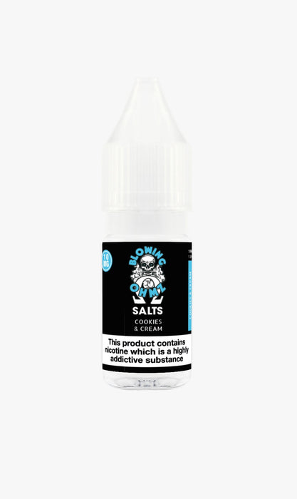 Blowing OHMZ -Cookies & Cream 10ml Salt E-Liquid