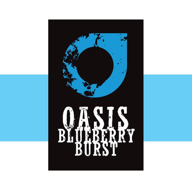 Oasis Blueberry Burst 4 x 10ml - Loony Juice UK