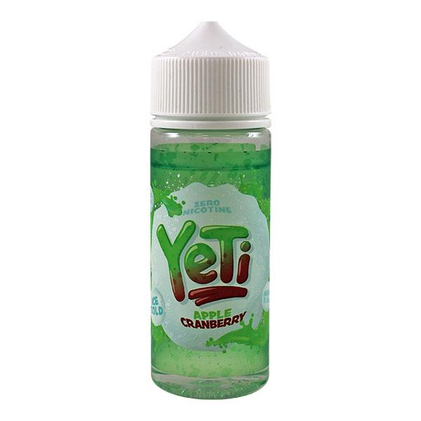Yeti Apple Cranberry 100ml E-Liquid - Loony Juice UK