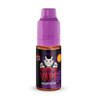 BANOFFEE PIE - 10ML VAMPIRE VAPE E-LIQUID 3 X 10ML - Loony Juice UK