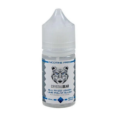 BLUE RAZZ LEMON & LIME POLAR SLUSH BY CRYSTAL BEAR 25ML - Loony Juice UK
