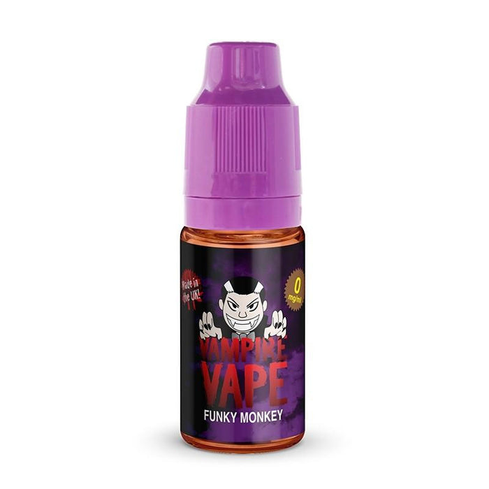 FUNKY MONKEY - 10ML VAMPIRE VAPE E-LIQUID - Loony Juice UK