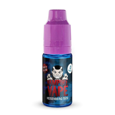 HEISENBERG - 10ML VAMPIRE VAPE E-LIQUID 3 X 10ML - Loony Juice UK