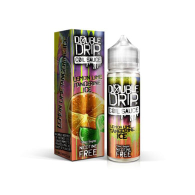 Double Drip Lemon Lime Tangerine Ice Short Fill E-Liquid 50ml - Loony Juice