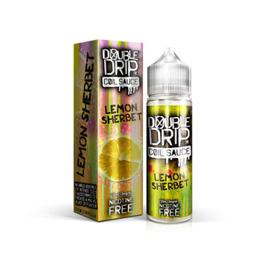 Double Drip Lemon Sherbet Short Fill E-Liquid 50ml - Loony Juice UK