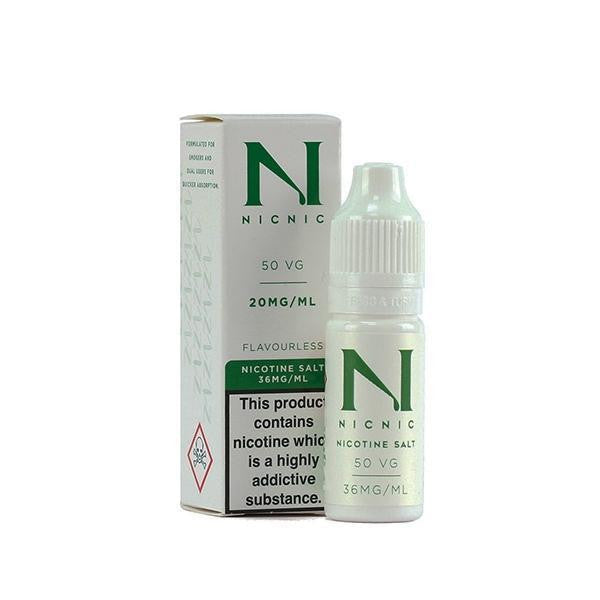 Nicotine Salt Shot 20MG 50% By Nic Nic - Loony Juice