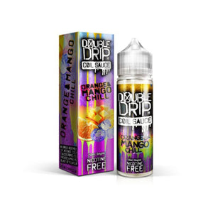 Double Drip Orange & Mango Chill Short Fill E-Liquid 50ml - Loony Juice UK
