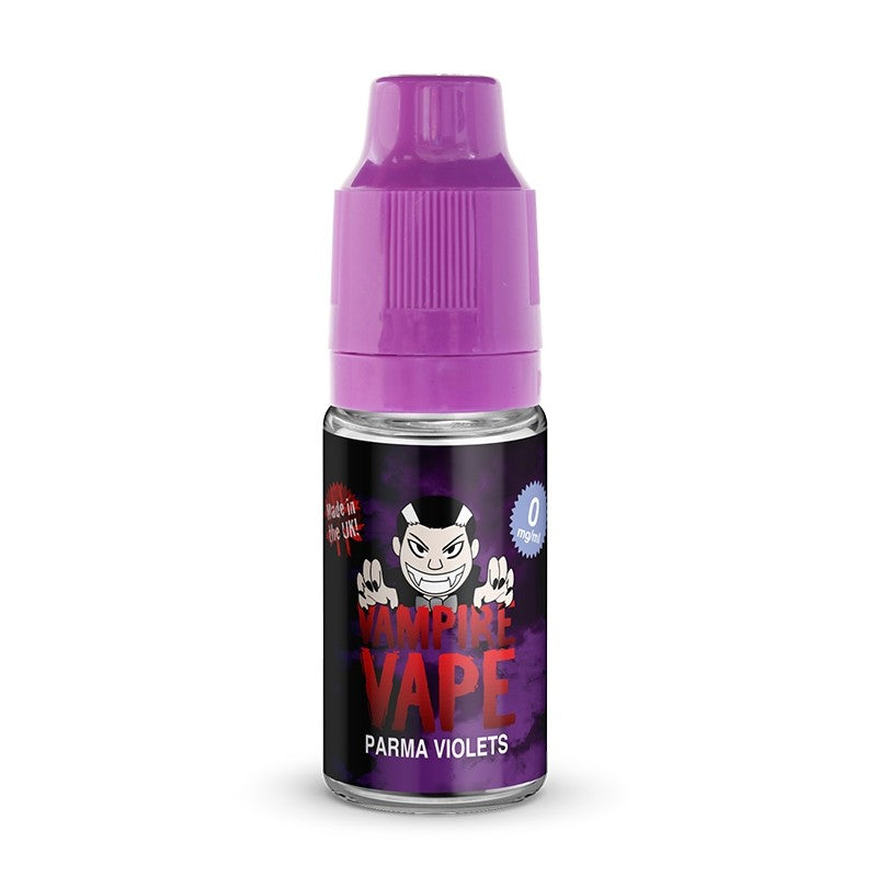 PARMA VIOLETS - 10ML VAMPIRE VAPE E-LIQUID - Loony Juice UK