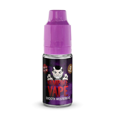 SMOOTH WESTERN V2 - 10ML VAMPIRE VAPE E-LIQUID 3 X 10ML - Loony Juice UK
