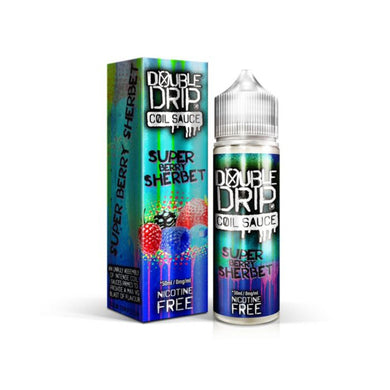 Double Drip Super Berry Sherbet Short Fill E-Liquid 50ml - Loony Juice UK