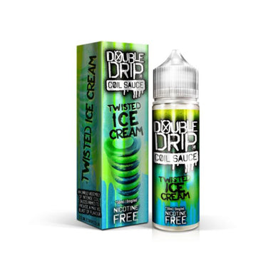 Double Drip Twisted Ice Cream Short Fill E-Liquid 50ml - Loony Juice UK