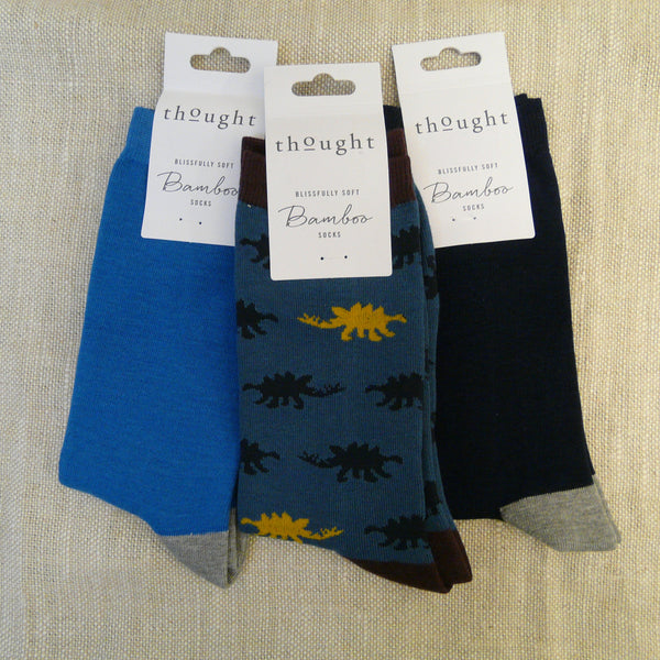 007-Bamboo-mix-3-pairs-socks-Blue-dinosaur-navy-heals-&-toes-Blue-Navy-grey-heal-&-toe