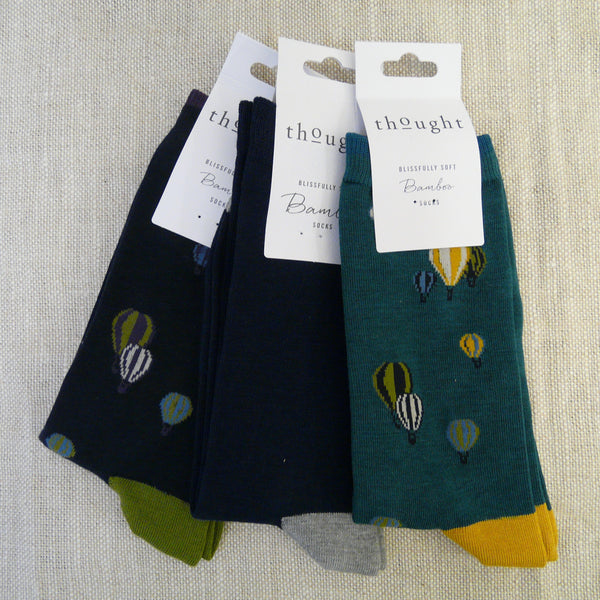 021-Bamboo-mix-3-pairs-socks-Navy-Balloon-green-heel-&-toes-Navy-grey-heel-&-toe-Teal-Balloon-yellow-toe-&-heel