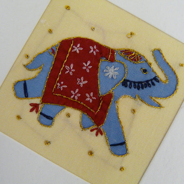 Indian Elephant Card
