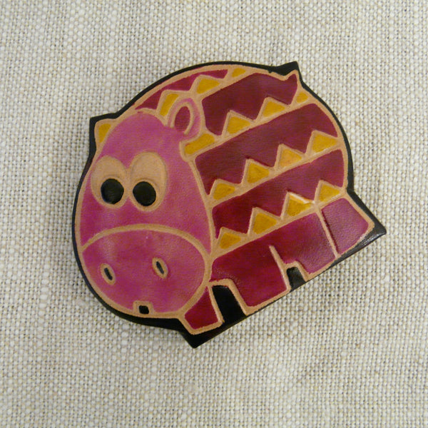 fair-trade-handcrafted-small-leather-coin-purse-hippo-side-view-pink-head-patterned-body