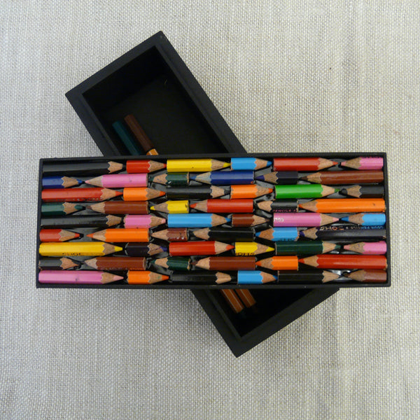 P1110138-Fair-Trade-Upcycled-Crayons-Rectangular-Pencil-Box-open-showing-lid