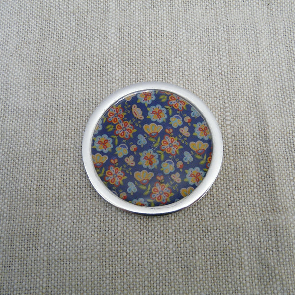 P1110191-Fair-Trade-Recycled-Aluminium-Flower-Single-Coaster-Blue