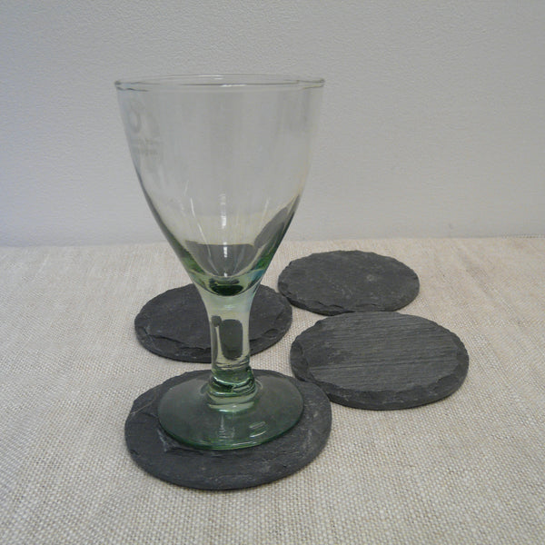 P1110200-Fair-Trade-Slate-Coaster-Round-4-with-glass